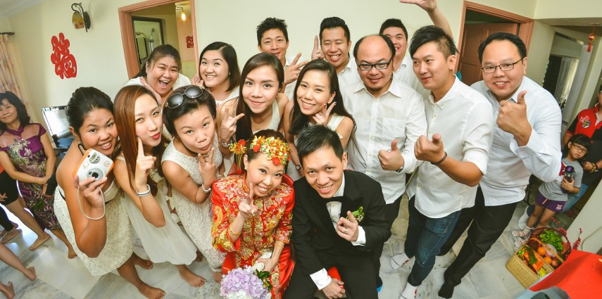 Wedding Actual Day @ Puchong: KokKuen & Lavonne