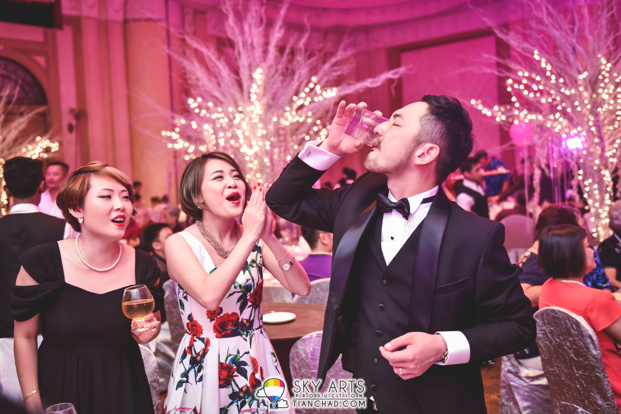 [W] Frank & Karena Wedding Dinner @ JW Marriott KL Hotel